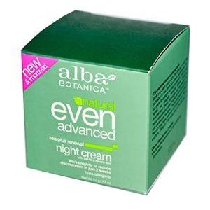 Alba Botanica Even Advance Sea Renewal Night Cream